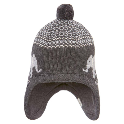 BOYS    Headwear    Toshi Beanie Earmuff Elephant - Charcoal - The Infant  Boutique  2aef5f19d349